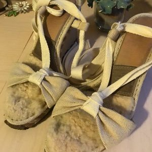 UGG Shoes - UGG Wedges with Ankle Wraps